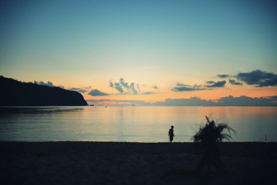 Sango Beach: 目の前のビーチ