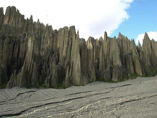 La Paz, Bolivie : impresionante formaciones rocosas