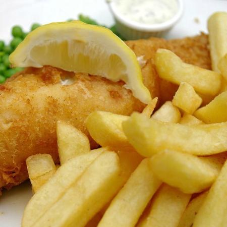 South Eastern Hotel: Fish and Chips