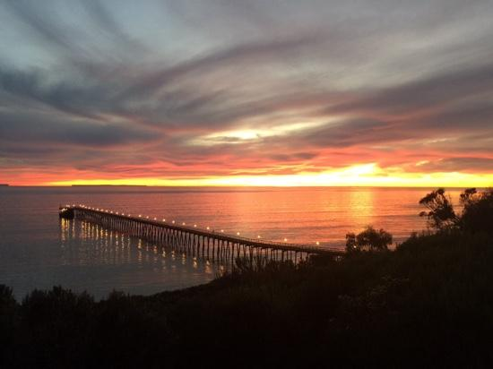 Goleta, Californië: Santa Barbara Sunset