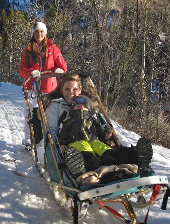 Rocky Mountain Recreation of Utah: Dog Sled Ride 1/7/15