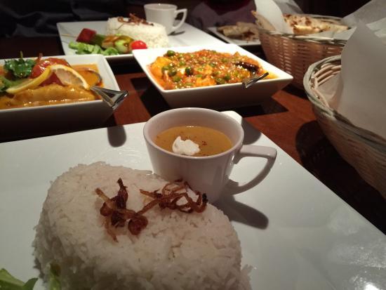 Guru Indian Restaurant And Wine Bar The Food