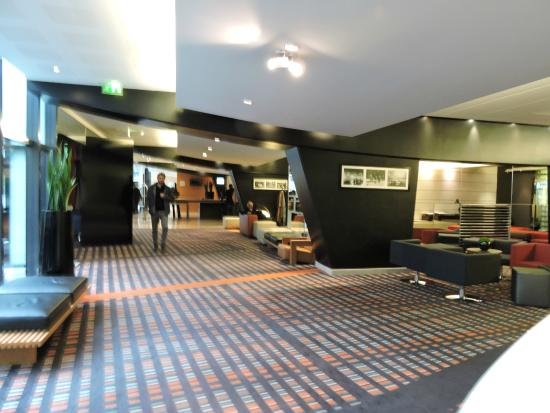 Hotel Reception And Foyer Area