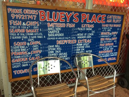 Bluey's Fish and Chips : Good