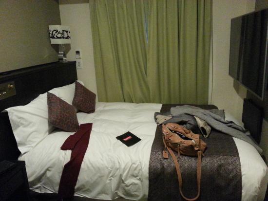Centurion Hotel Ikebukuro Slumberland Bed With 60 Tv