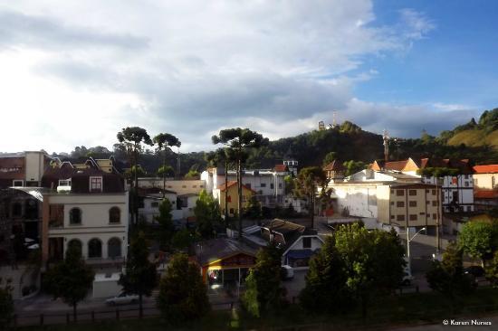 Hotel Monte Carlo : vista do quarto