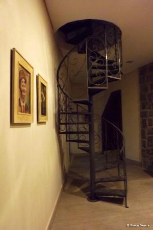Hotel Monte Carlo : escada para o mirante