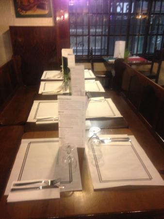 Kruger : La mesa