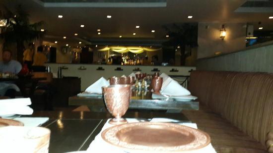 Khansama: Dining table