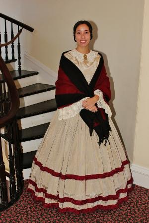 Bartow-Pell Mansion Museum: Docent during Discover Bartow-Pell Day 2014