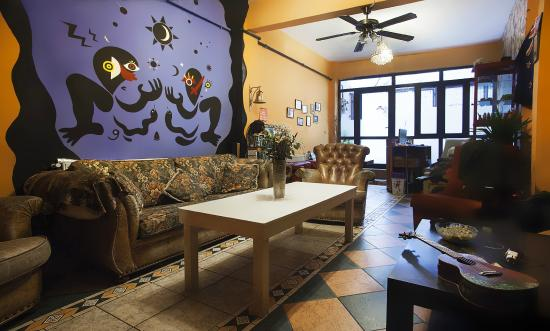 Taksim Sopha Hostel : Our common room where you can hang out