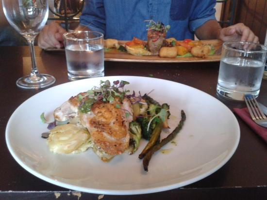 Wooden Board Kitchen: lemon and thyme chicken breast