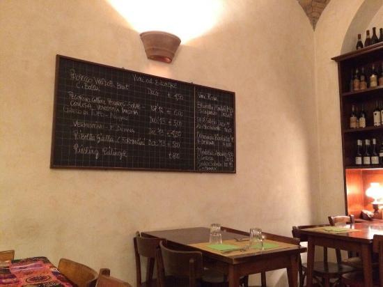 Monti DOC, Vineria & Buffet: Os vinhos disponíveis para degustar em taça :-D