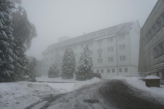 Werrapark Resort Hotel Heubacher Höhe: Das Hotel von Außen