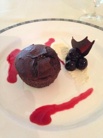 The Strathearn: mouth-watering chocolate fondant