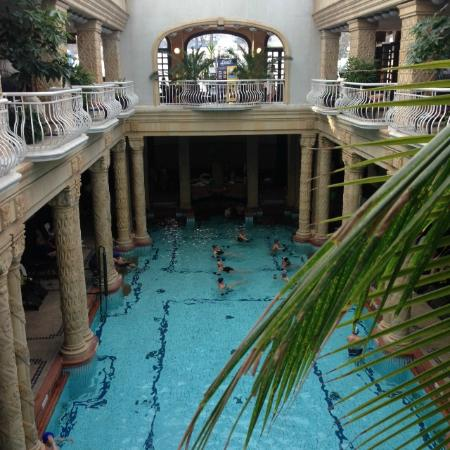 Gallery spa indoor pool picture of gellert spa for A list salon budapest