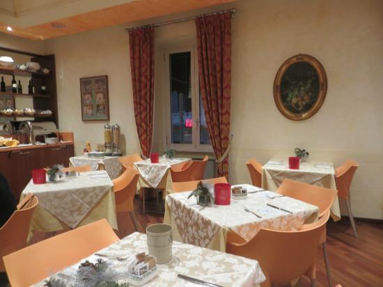 هوتل سيرفو ميلانو: Breakfast room