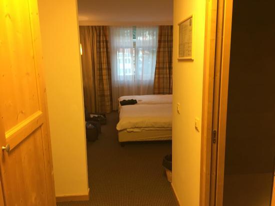Hotel Schloss Pontresina Family & Spa: Camera doppia