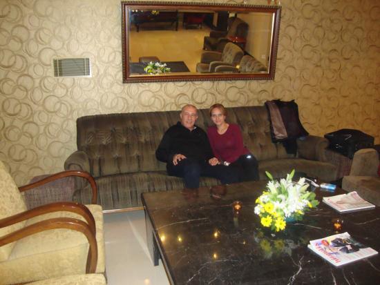 Hotel Beyaz Saray : Haykel et Inès au Beyaz Saray