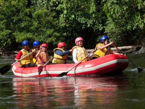 Temburong River Rafting Down From The National Park Picture Of - Intrepid tours