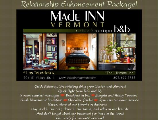 Made Inn Vermont An Urban Chic Boutique Bed And Breakfast