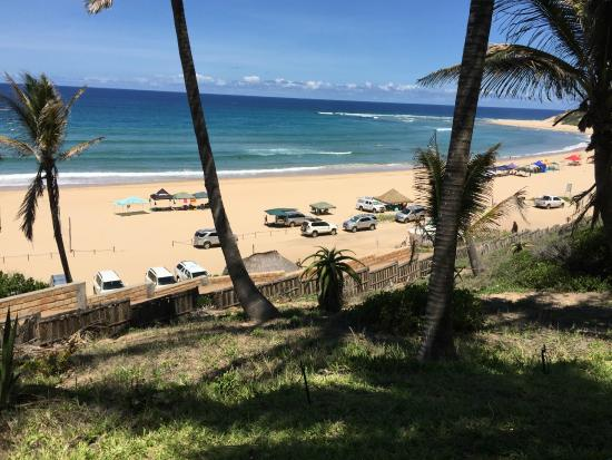Jeff's Palm Resort: Awesome beach view