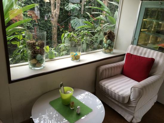 The Lime Tree at Kuch Khaas: A table for two!
