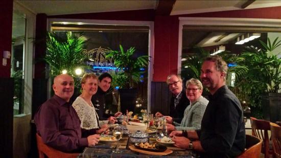 Zaamslag, Nederland: Gezellig, lekker em leerzaam tafelen