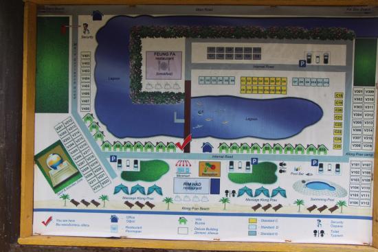 Klong Prao Resort Koh Chang: Карта отеля