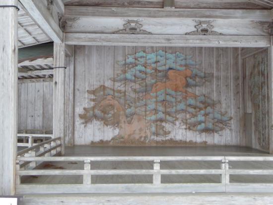 Hakusan Shrine: 能舞台の絵