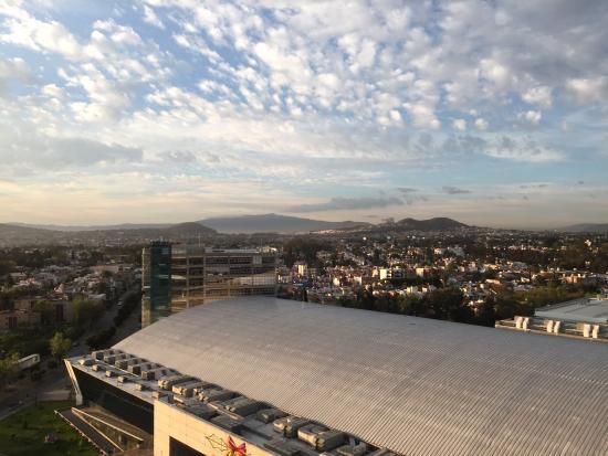 Hilton Guadalajara: View from my room