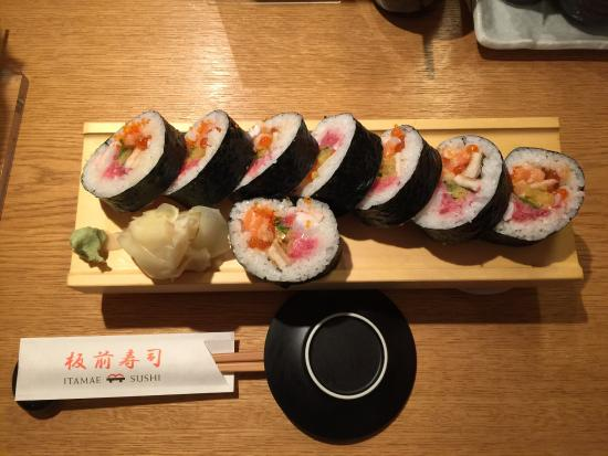 Itamae Sushi: They are very kind and take care of you, if you're not japanese they are doing efforts to talk i