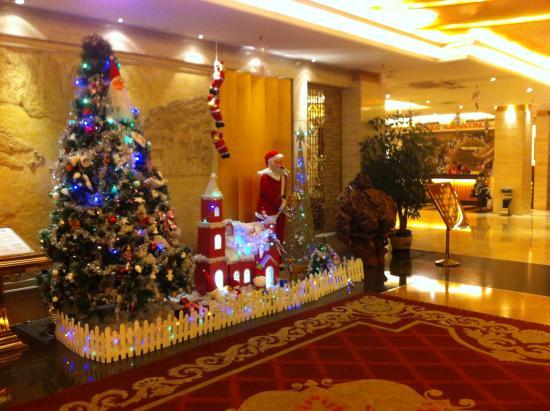Jintone Guilin Grand Hotel: hall d'entrée