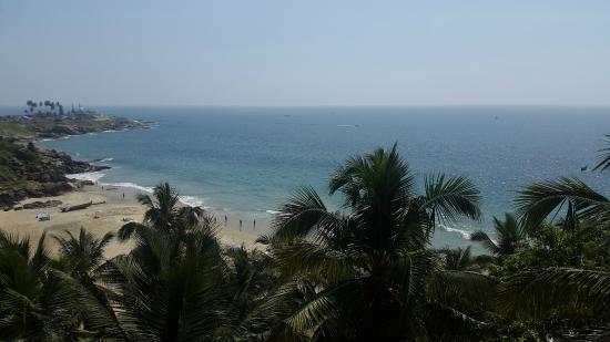 Vijay Varma Beach Resort: Room with a view................