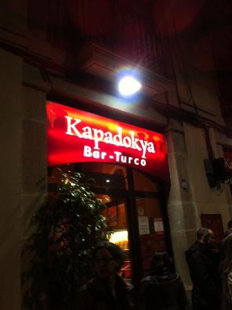 Kapadokya bar restaurante Turco