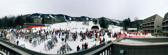 Sunday River Resort: View from Foggy Goggle