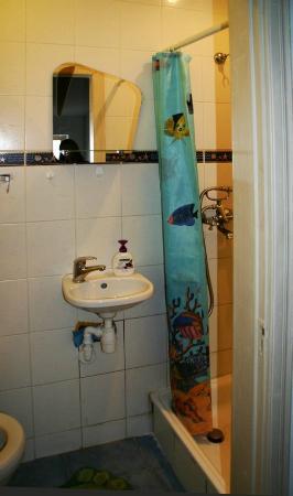 Legenda Lvova Hostel: Санвузол двомісного номера