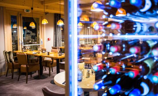 Le Samovar Hotel & Chalets : RESTAURANT
