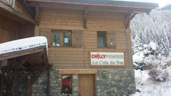 Chilly Powder : Outside Chilli Powder