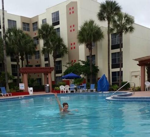 Swimming Pool Picture Of Hawthorn Suites By Wyndham Orlando International Drive Orlando