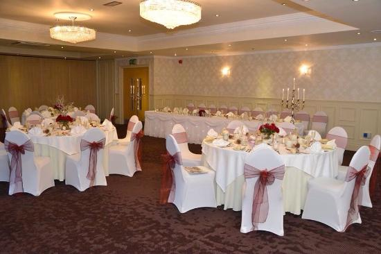 The Fenwick Hotel: Our wedding breakfast all perfectly set up by Caroline x