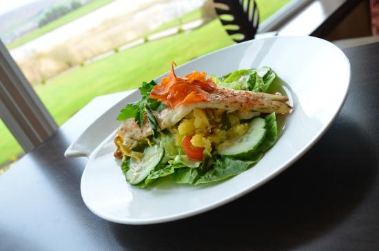 Lochside House Hotel & Spa: Meal