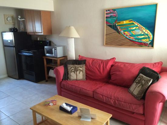 Camelot Beach Resort: Living room