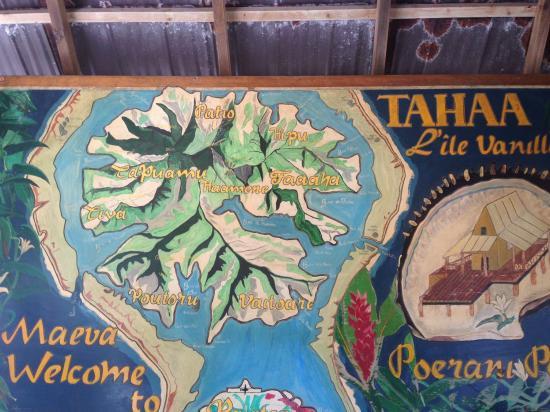 Poerani Tours- Day Tours : TAHAA