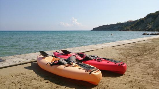 Porto Zante Villas & Spa: Kayaks