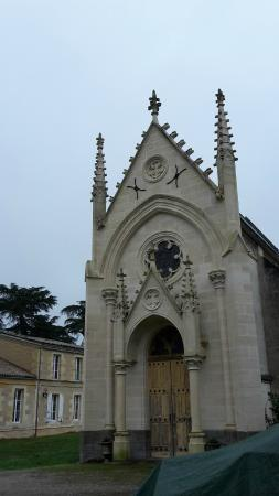Chambres d'hotes du Chateau de Leognan : capilla del Chateau