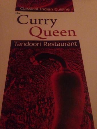 Menu Picture Of Curry Queen Cambridge Tripadvisor