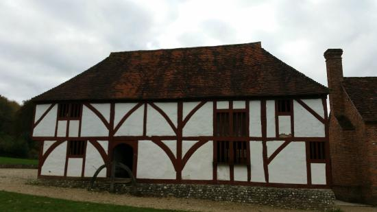 Weald & Downland Living Museum: The building where Ruth Goodman cooked the Tudor Christmas dinner in.