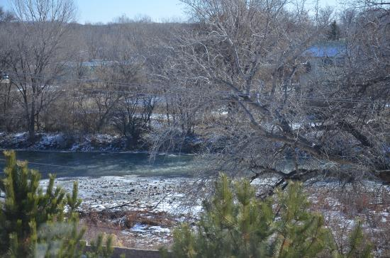 Courtyard Farmington: View of the Animas river from the room