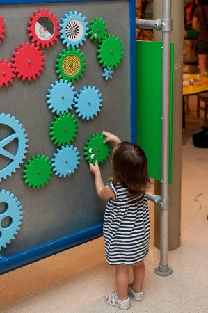 The Woodlands Children's Museum: You are never too small.